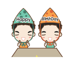 Cheeno & Chone Twin Boys sticker #14997345