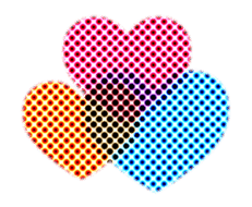 Moving heart sticker #14998494