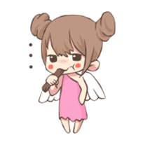 Lovely Cupid Animated sticker #15000012
