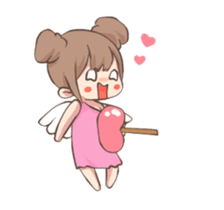 Lovely Cupid Animated sticker #15000014