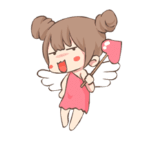 Lovely Cupid Animated sticker #15000028