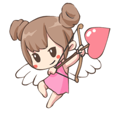 Lovely Cupid Animated
