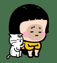 Mobile Girl, MiM - Legend - v1 sticker #15000194