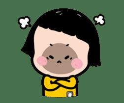 Mobile Girl, MiM - Legend - v1 sticker #15000204