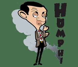 Mr Bean sticker #15000466