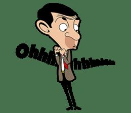 Mr Bean sticker #15000478