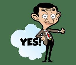 Mr Bean sticker #15000483