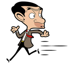 Mr Bean sticker #15000487