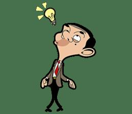 Mr Bean sticker #15000493