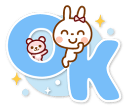 USAPYON[The big character] sticker #15004321