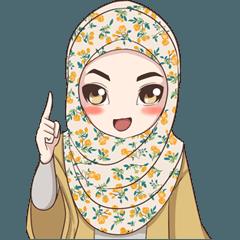 Cheerful Hijab