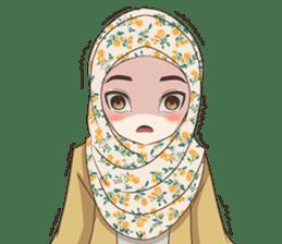 Cheerful Hijab sticker #15008806