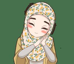 Cheerful Hijab sticker #15008807