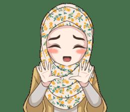 Cheerful Hijab sticker #15008808