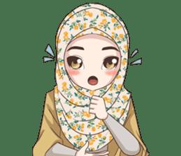 Cheerful Hijab sticker #15008810