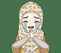 Cheerful Hijab sticker #15008812