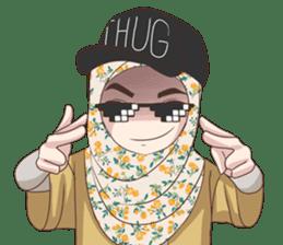 Cheerful Hijab sticker #15008813