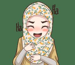 Cheerful Hijab sticker #15008819