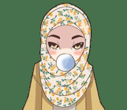 Cheerful Hijab sticker #15008820