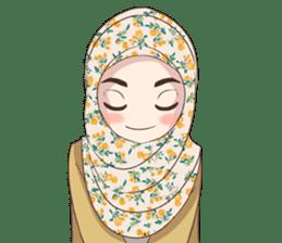 Cheerful Hijab sticker #15008821