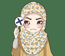 Cheerful Hijab sticker #15008825