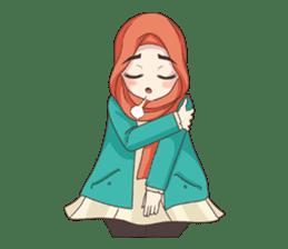 Cheerful Hijab sticker #15008830