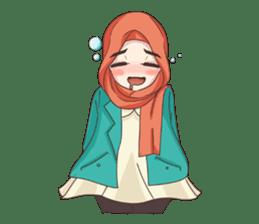 Cheerful Hijab sticker #15008831