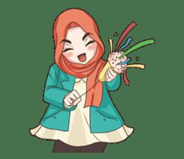 Cheerful Hijab sticker #15008832