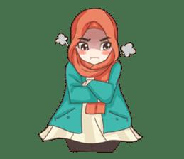 Cheerful Hijab sticker #15008837