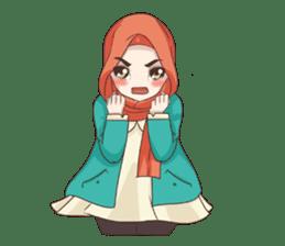 Cheerful Hijab sticker #15008838