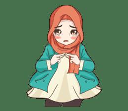 Cheerful Hijab sticker #15008843