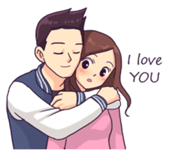 You & I : Intimate sticker #15017186