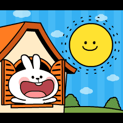 "[Animation] Rabbit & Smile ""Happy Day"""