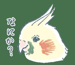 Funiochi the Cockatiel sticker #15026837