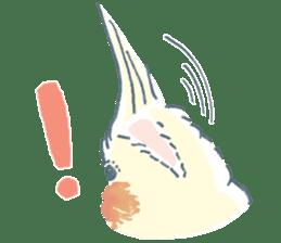 Funiochi the Cockatiel sticker #15026838