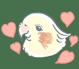 Funiochi the Cockatiel sticker #15026840