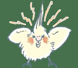 Funiochi the Cockatiel sticker #15026843