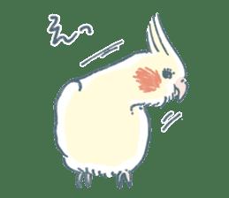 Funiochi the Cockatiel sticker #15026846