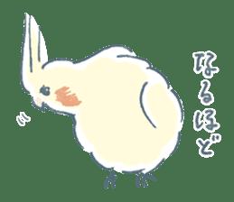 Funiochi the Cockatiel sticker #15026847