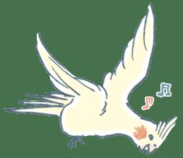 Funiochi the Cockatiel sticker #15026852