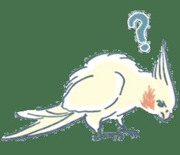 Funiochi the Cockatiel sticker #15026855