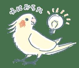 Funiochi the Cockatiel sticker #15026856