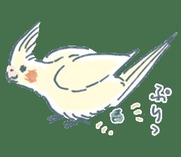 Funiochi the Cockatiel sticker #15026857