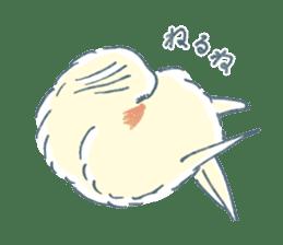 Funiochi the Cockatiel sticker #15026858
