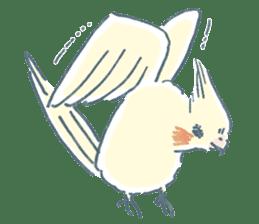 Funiochi the Cockatiel sticker #15026860