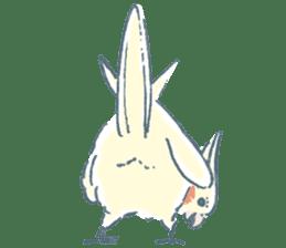 Funiochi the Cockatiel sticker #15026861