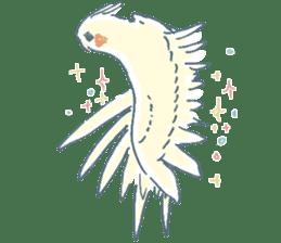 Funiochi the Cockatiel sticker #15026862