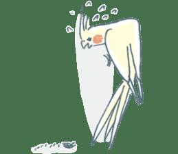 Funiochi the Cockatiel sticker #15026863