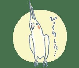 Funiochi the Cockatiel sticker #15026864