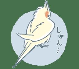 Funiochi the Cockatiel sticker #15026866